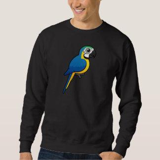 Sudadera Macaw Azul-y-amarillo