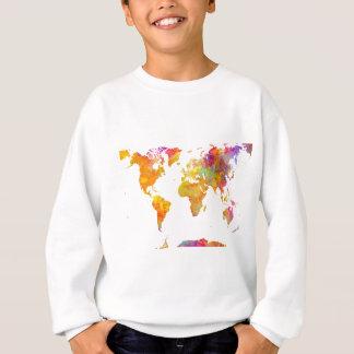 Sudadera mapa del mundo