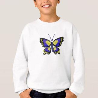 Sudadera Mariposa azul y amarilla