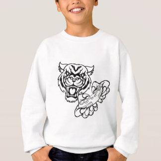 Sudadera Mascota del videojugador del tigre