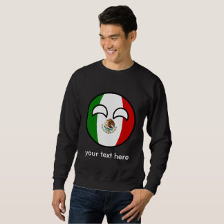 Sudadera México Geeky que tiende divertido Countryball
