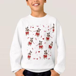 Sudadera Modelo de Navidad del barro amasado