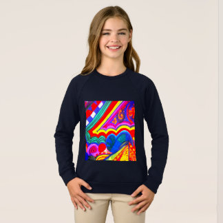 Sudadera ¡Molinillo de viento colorido!!!