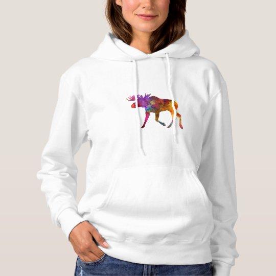 Sudadera Moose 02 in watercolor