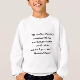 Sudadera Mún gobierno - Thomas Jefferson
