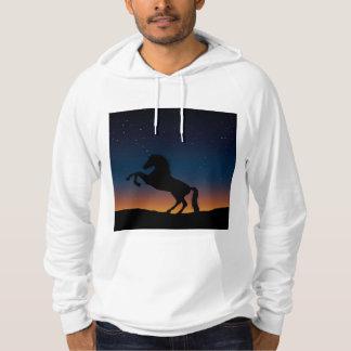 Sudadera Naturaleza animal del caballo