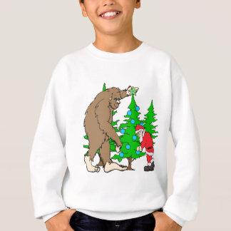 Sudadera Navidad de Bigfoot y de Santa