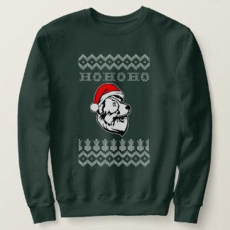 Sudadera Navidad feo australiano del perro de pastor Ho Ho