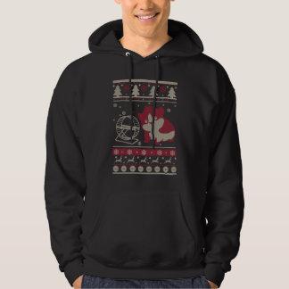 Sudadera Navidad feo del conejillo de Indias