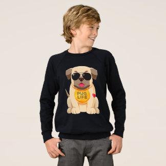 Sudadera Niños del dibujo animado del perro de perrito del