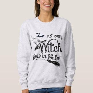 Sudadera No cada bruja vive en Salem Halloween