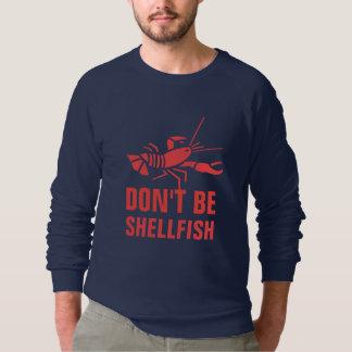 Sudadera No sea crustáceos