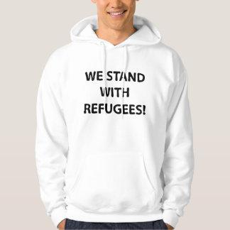 Sudadera Nos colocamos con los refugiados