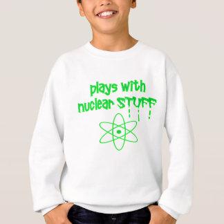 Sudadera nuclear divertido