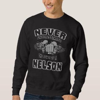 Sudadera Nunca subestime el poder de una NELSON