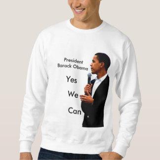Sudadera obama5, PresidentBarack Obama, sí, podemos