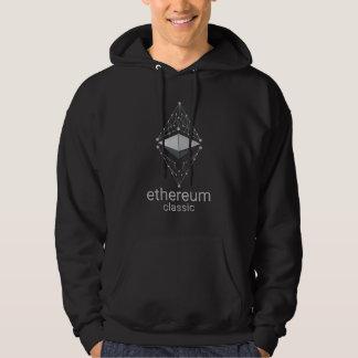 Sudadera Obra clásica de Ethereum hecha de la plata
