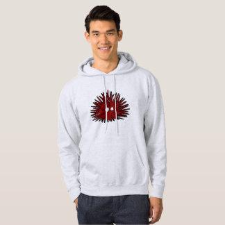 Sudadera Océano rojo Uni espinoso del erizo del erizo de