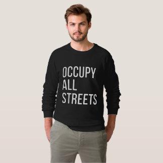 Sudadera Ocupe todas las calles