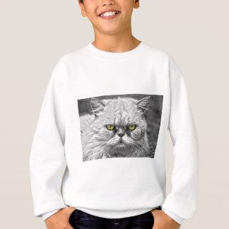 Sudadera Ojos de gato de oro enojados