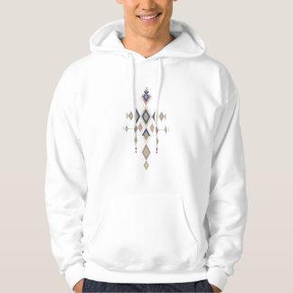 Sudadera Ornamento azteca tribal étnico del vintage