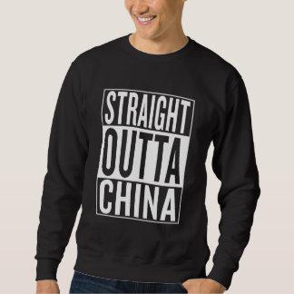 Sudadera outta recto China