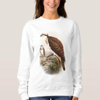 Sudadera Pájaros de Juan Gould del halcón del mar de Osprey