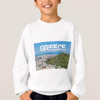 Sudadera Panorama de Atenas, Grecia