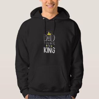 Sudadera Papá usted es el rey