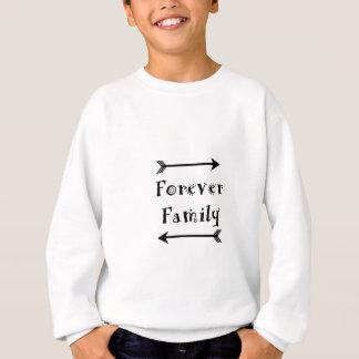 Sudadera Para siempre familia - diseño de Adpotion