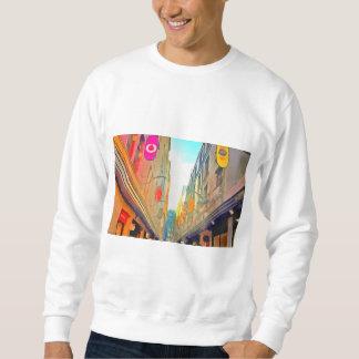 Sudadera Paso entre los edificios coloridos