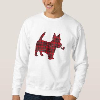 Sudadera Perro escocés del tartán de Terrier del escocés