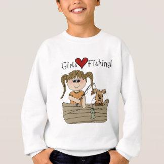 Sudadera Pesca del amor de los chicas
