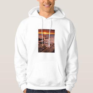 Sudadera Piscinas en la puesta del sol, California de la