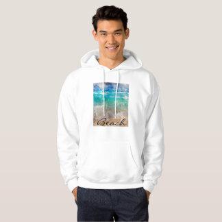 Sudadera Playa hermosa de Cancun - acuarela de Digitaces