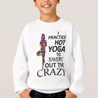 Sudadera Practico yoga caliente para sudar hacia fuera el