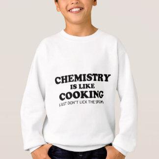 Sudadera Química que cocina cita divertida de la ciencia