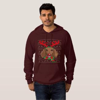 Sudadera regalo divertido del navidad del reno de la