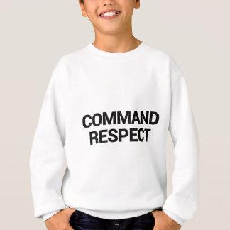 Sudadera Respecto del comando