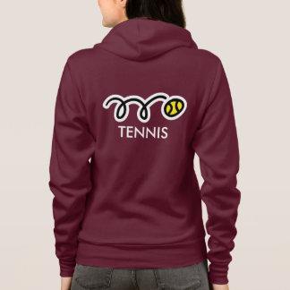 Sudadera Ropa de encargo del equipo del tenis para las