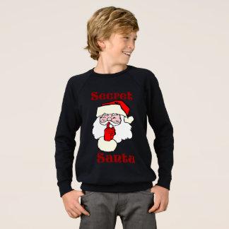 Sudadera Santa secreto en navidad