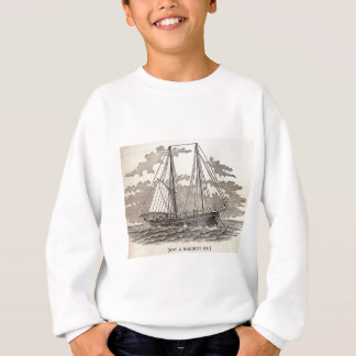 Sudadera Schooner del halibut del vintage