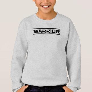 Sudadera Sea un guerrero