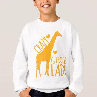 Sudadera señora loca de la jirafa