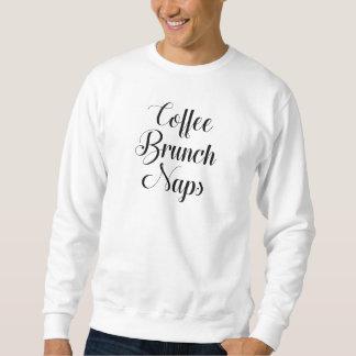 Sudadera Siestas del brunch del café