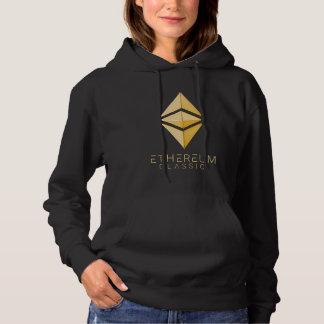 Sudadera Simple clásico de Ethereum (oro)