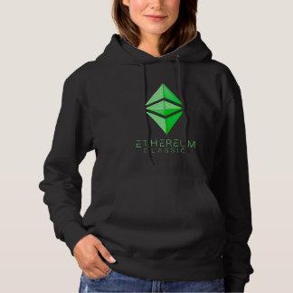 Sudadera Simple clásico de Ethereum (verde)