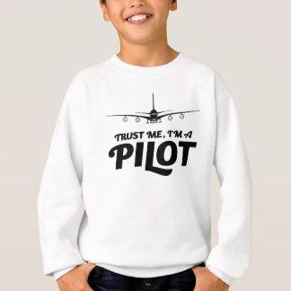 Sudadera Soy piloto
