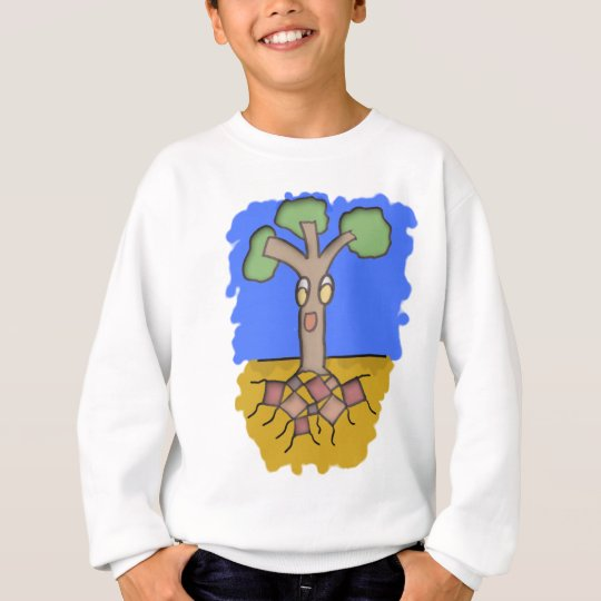 Sudadera Square Roots Tree