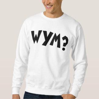 Sudadera Sudor del logotipo de WYM